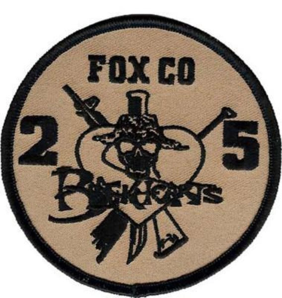 2nd Battalion 5th Marines USMC Patch - BLACKHEARTS