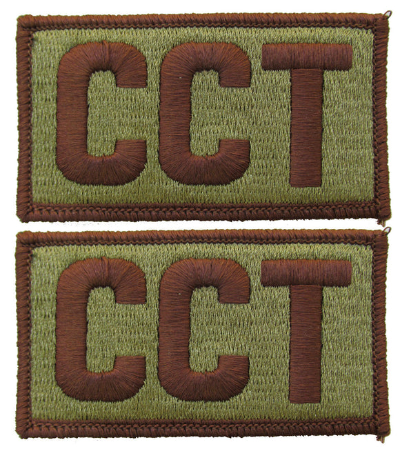 2 Pack of Air Force CCT OCP Patch Spice Brown - Combat Controller