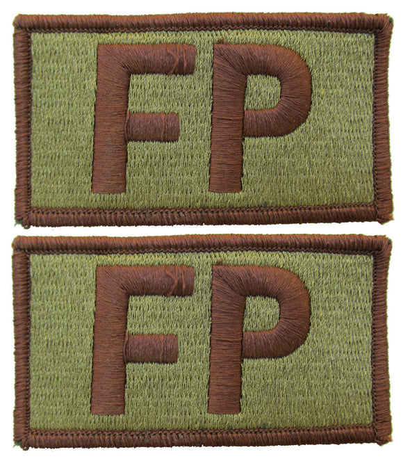 2 Pack of Air Force FP OCP Patch Spice Brown - Force Protection
