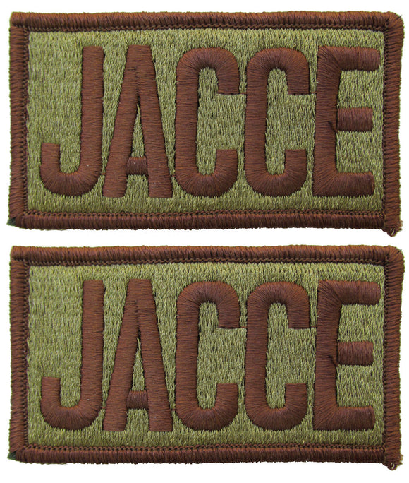 2 Pack of Air Force JACCE OCP Patch Spice Brown - Joint Air Component Command Element
