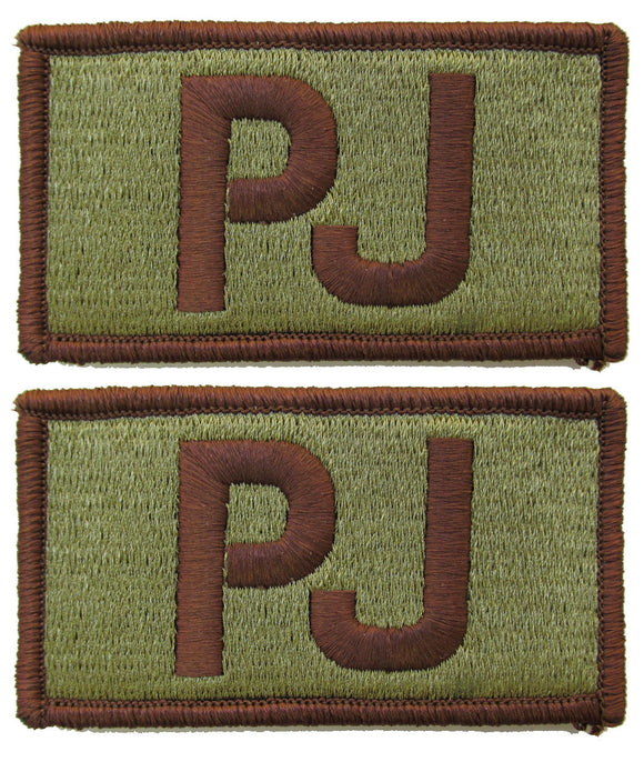 2 Pack of Air Force PJ OCP Patch Spice Brown - Pararescue