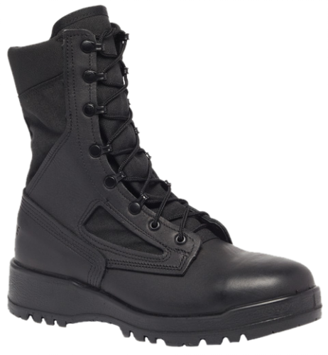 Belleville 300 TROP ST Hot Weather Steel Toe Boots - Black