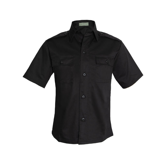 Rothco Short Sleeve Tactical Shirt Black