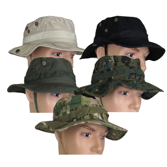 Military Uniform Supply Boonie Hat - Various Colors