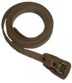 Civil War Canteen Straps - Riveted - Natural Color