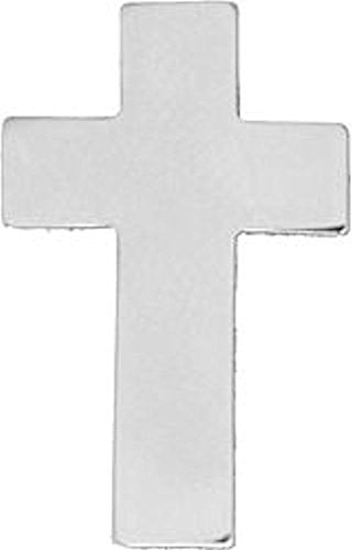 Chaplain's Cross Silver Small Pin