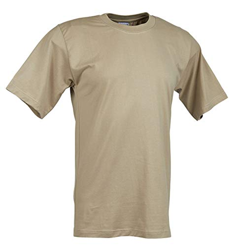 Military Uniform Supply Men's Moisture Wicking T-Shirt - Sand