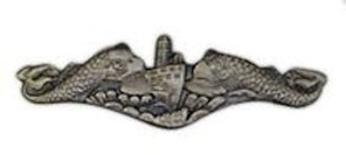 Submarine Silver Large Pin