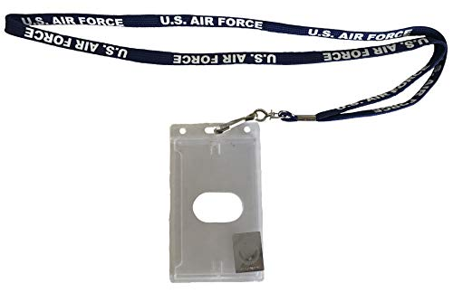 USAF Badge Holder and Lanyard
