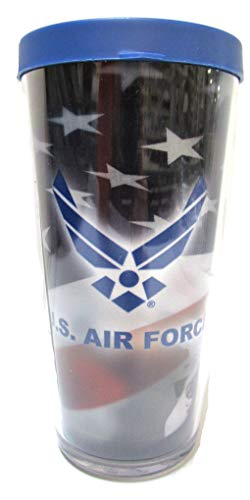 U.S. Air Force Wing Thermal Insulated 16oz Tumbler with Lid