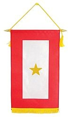 Family Member Military Service Banner - 1 GOLD STAR