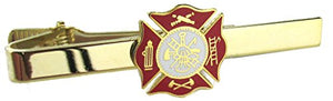 Fire Department Insignia Tie Bar