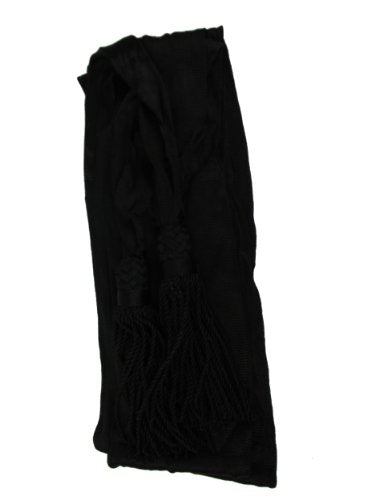 Civil War Silk Military Officer's Sash - Black