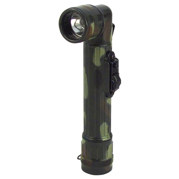 Rothco Mini Army Style Flashlight Woodland Camo