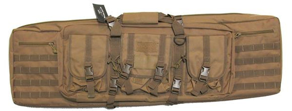 Military Uniform Supply 42 Inch Double Gun Case