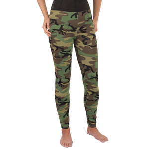 Rothco Womens Camo Leggings