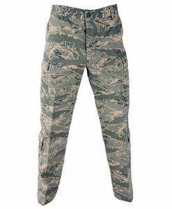 NEW Propper ABU Pants - 50/50 Nylon/Cotton TWILL - Air Force Tiger Stripe