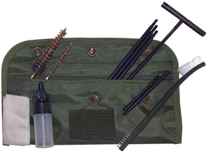 Military Gun Cleaning Kit OD - Field Cleaning Kit for 5.56mm / .223 Rifle