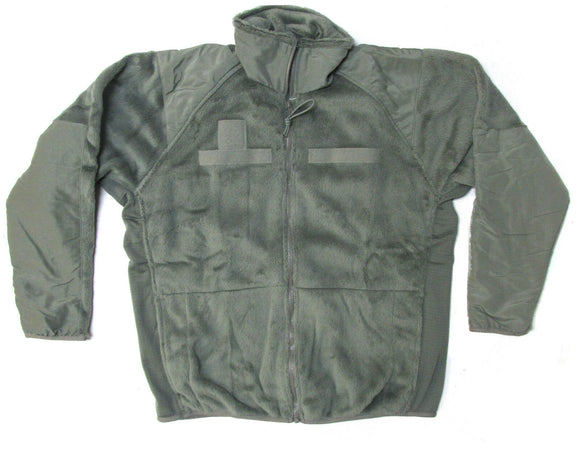 U.S Military Surplus Polartec Gen III Fleece Jacket - FOLIAGE GREEN