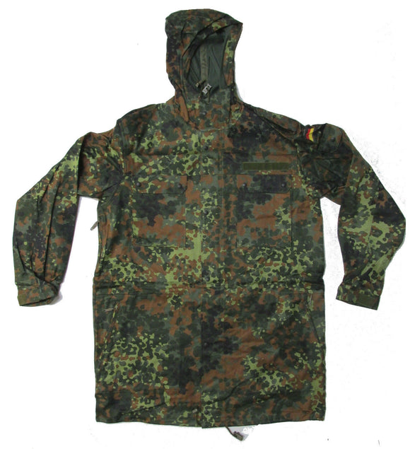 German Army (Bundeswehr) Flecktarn Parka - NEW European Military Surplus