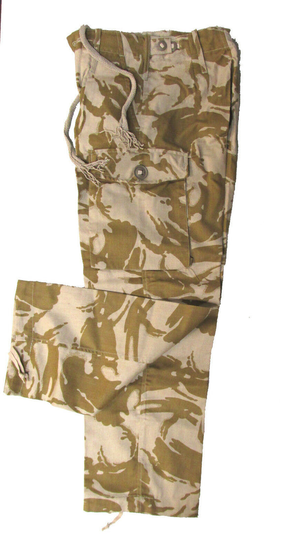 British Military Combat Pants - Desert DPM Camo - NEW Surplus