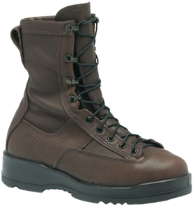 Belleville 330 ST Wet Weather Steel Toe Flight Boots - Chocolate Brown