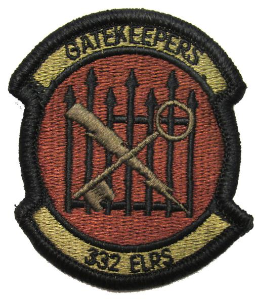 332nd Expeditionary Logistics Readiness Squadron OCP Patch - Spice Brown