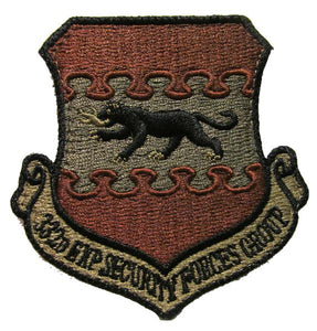 332nd Expeditionary Security Forces Group OCP Patch - Spice Brown