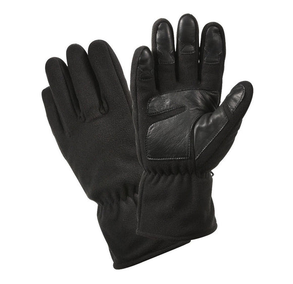 Rothco Micro Fleece All Weather Gloves - BLACK