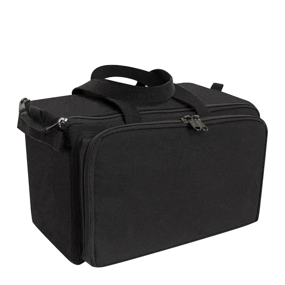 Rothco Canvas Tactical Shooting Range Bag - Black