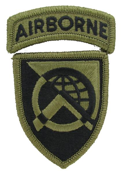 360th Civil Affairs Brigade OCP Patch with Airborne Tab - Scorpion W2