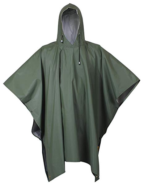 Rothco Rubberized Rainwear Poncho