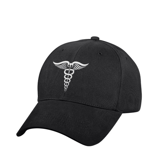 Rothco Medical Symbol (Caduceus) Low Profile Hat White