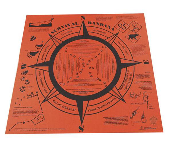 Survival Bandana - Emergency Handkerchief