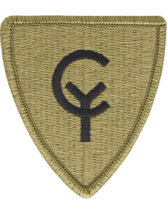 38th Infantry Division Multicam  OCP Patch