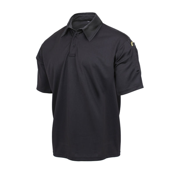 Rothco Tactical Performance Polo Shirt Black