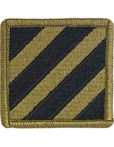3rd Infantry Division Multicam  OCP Patch