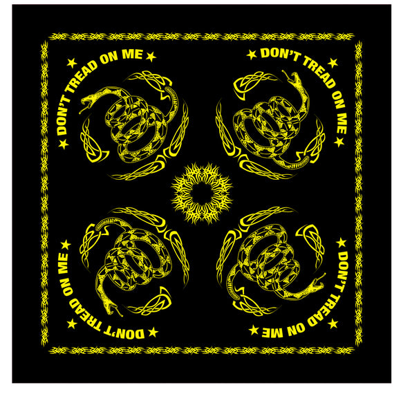 Rothco Don't Tread On Me Bandana - 22 x 22 inch