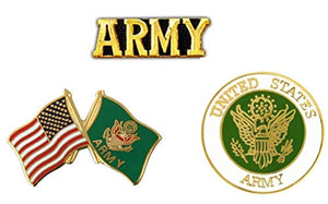 U.S. Army Pins - Novelty Hat Pin 3 PACK