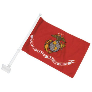 U.S. Marine Corps Car Flag