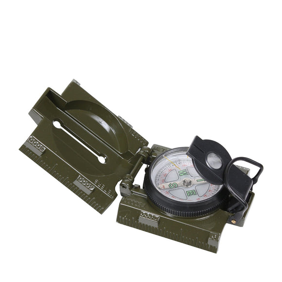Rothco Military Marching Compass with LED Light Olive Drab