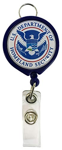 U.S. Department of Homeland Security Retractable Badge Holder