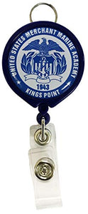 United States Merchant Marine Academy Retractable Badge Holder