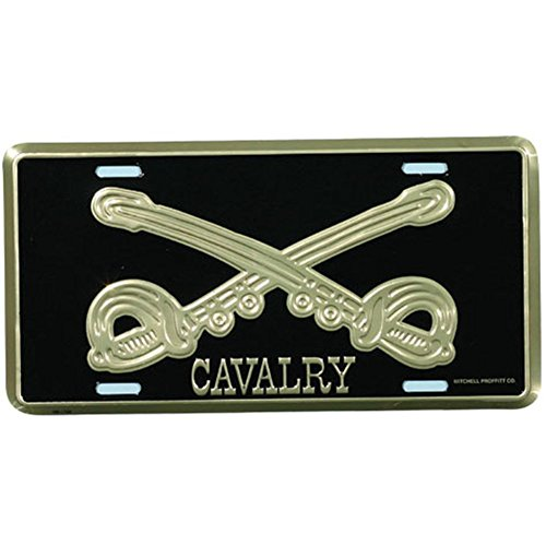 Honor Country Cavalry License Plate
