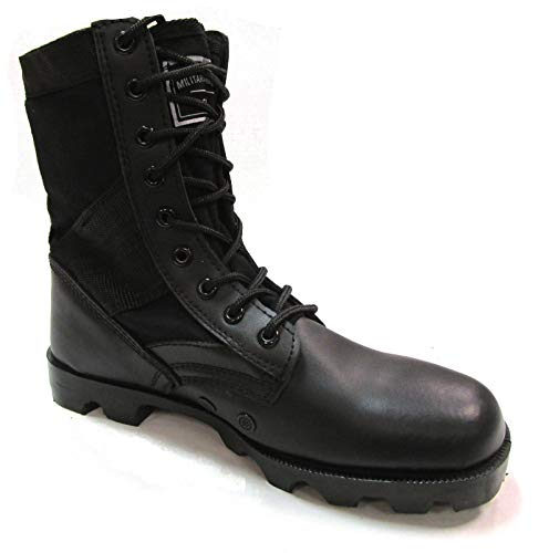 Military Uniform Supply Black Jungle Boots - Men's Combat Boots