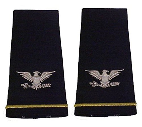 Army Uniform Epaulets - Shoulder Boards O-6 COLONEL