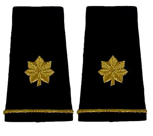 Army Uniform Epaulets - Shoulder Boards O-4 MAJOR