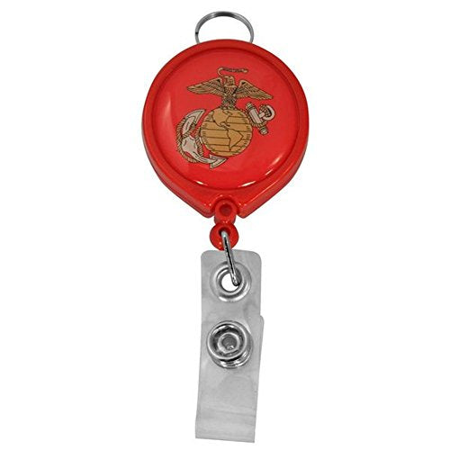 U.S. Marine Corp Retractable Badge Holder