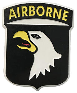 U.S. Army 101st Airborne Screaming Eagle Small Cut-Out Magnet
