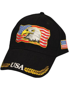 Eagle American Flag Hat
